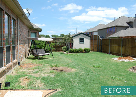 DIY Landscape - Before