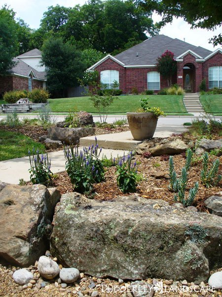 Landscape Boulders Dallas Tx : Texas native landscapes gallery dubberley landscape