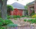 Dubberley home rain garden Plano, Texas