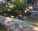 Flagstone Paths Rocks In Landscape