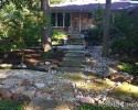 Flagstone Stepping Stones Dry Creek Bed