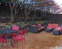 Decomposed granite patio extension