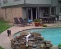 Pool stones - Before