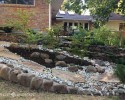 Tiered Retaining Walls For Erosion Control
