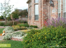 Traditional landscape makeover - After