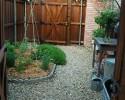 Usable sideyard space
