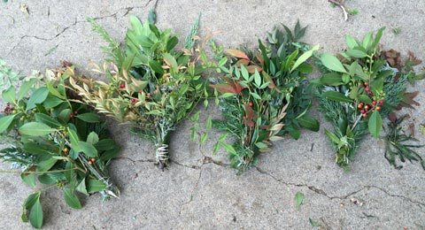Wreath Making Bundle Plant Material